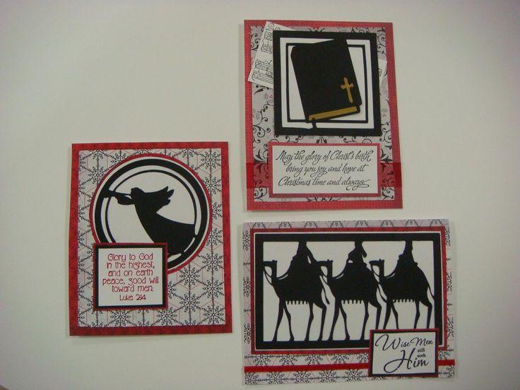 Carolyn's Creative Corner: Christmas Cards Using Cricut