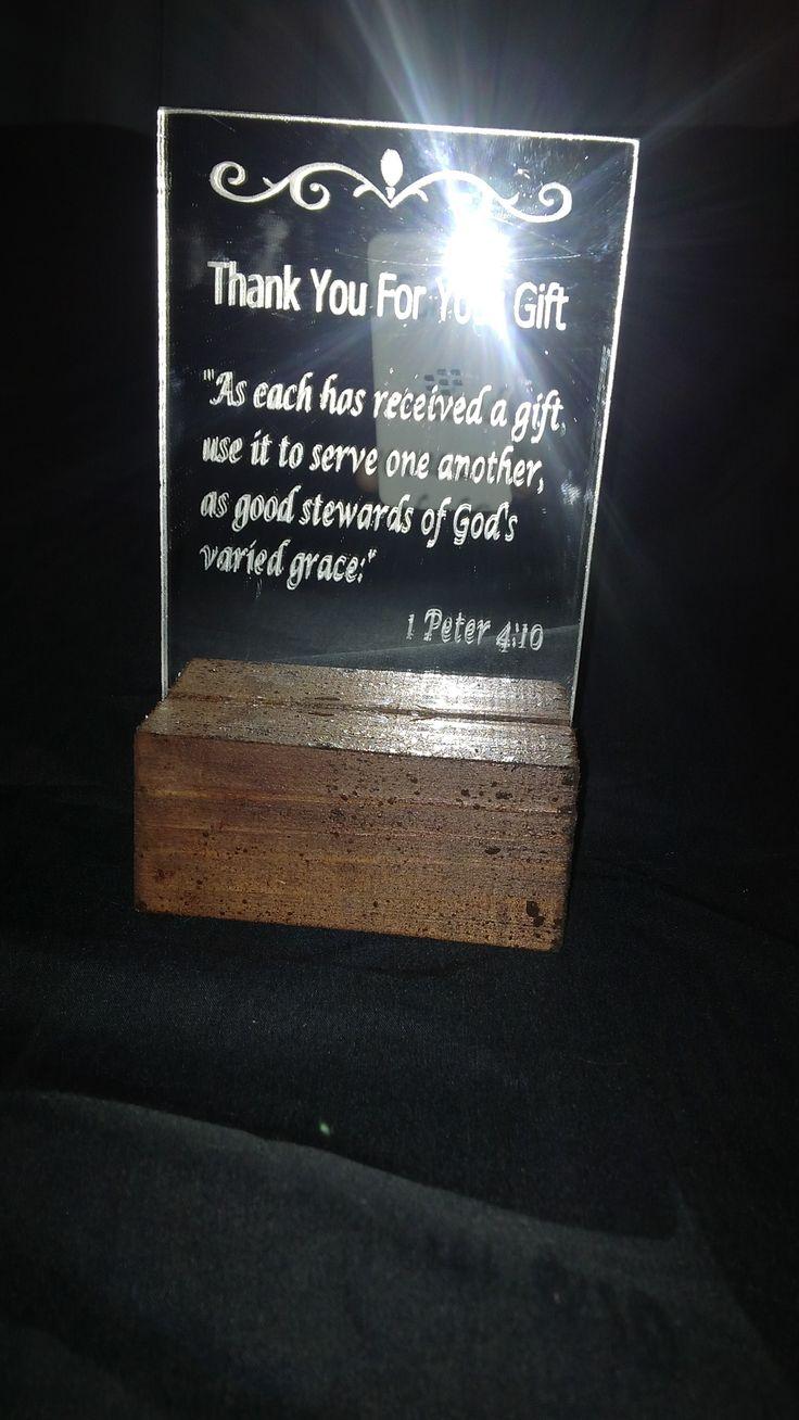 church order - mirrors giving thanks