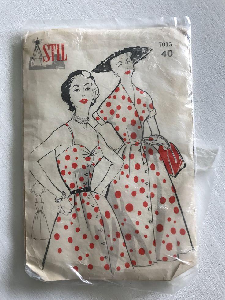 Mönster retro klänning och Jacka - stil på Tradera.com - Symönster för