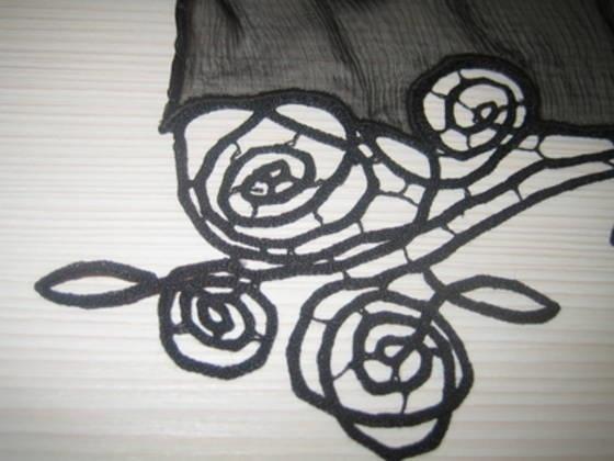 Lace scarf, festival idrijske čipke