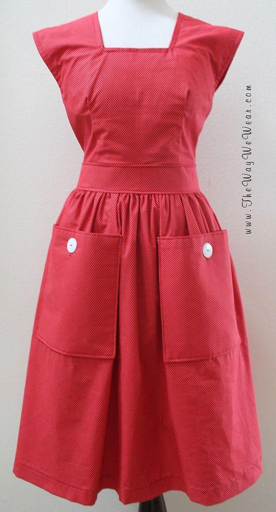 ©2010 The Way We Wear Handmade Vintage Dresses, Pinafores, Aprons,& Vintage Sewing Patterns www.TheWayWeWear.com