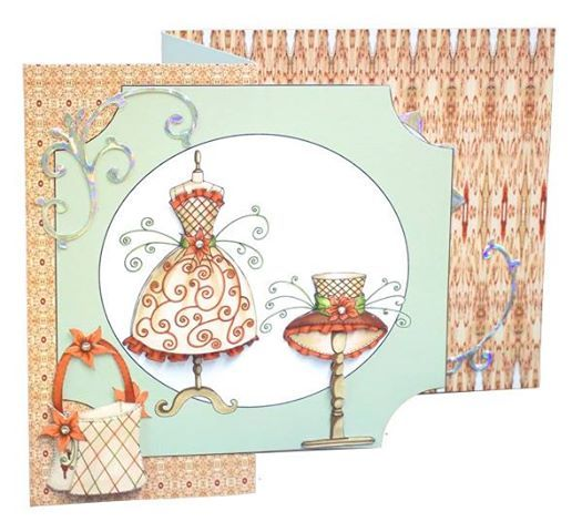 Lovely shaped card