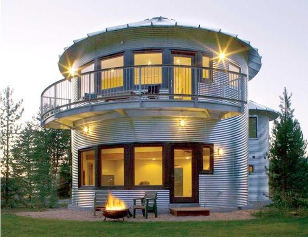 Do It Yourself Home Design: How To Build A Grain Bin House
