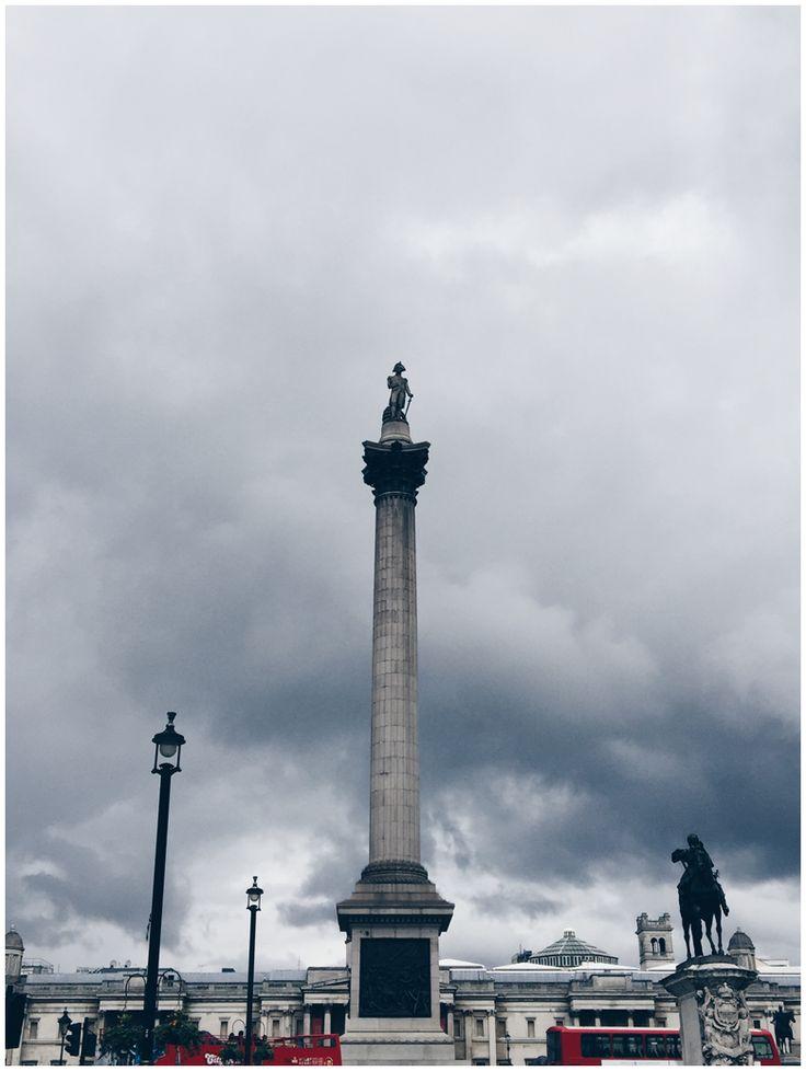JUNE GOLD | Travel Diary London - Trafalgar Square, Nelsons Column