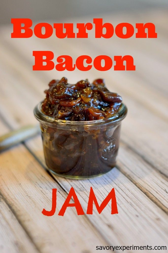 Bourbon bacon jam is an essential condiment for any kitchen. Bacon ...