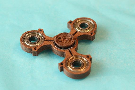 EDC Fidget Spinner  Piston II™ by LW by Beyond3D on Etsy