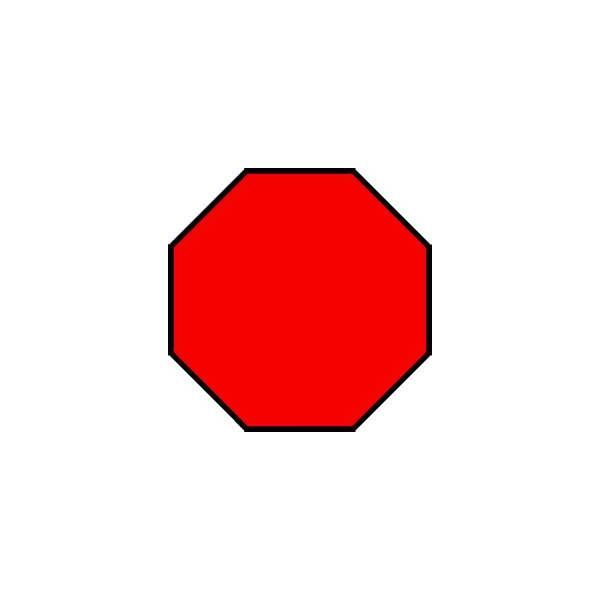Preschool Octagon Shape Activity & Game | Letter O | Pinterest