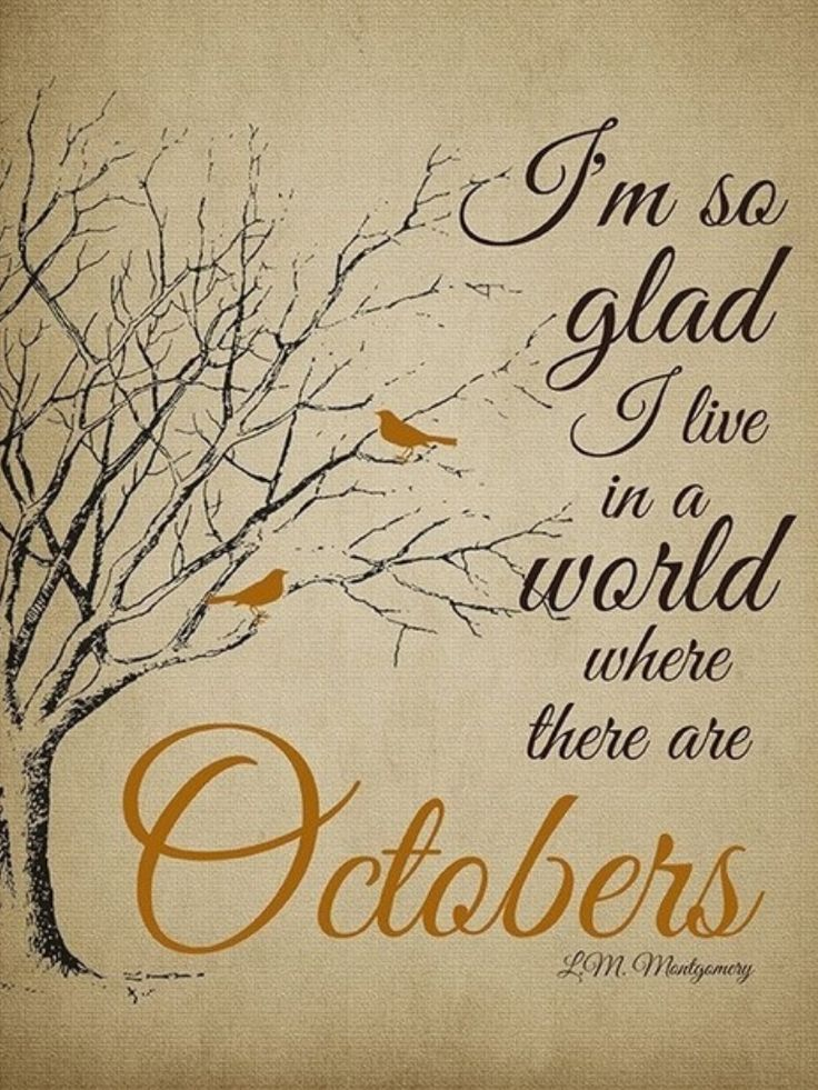 October Autumn Quotes And. QuotesGram