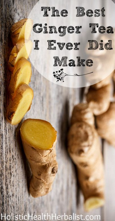 ginger tea recipe...it's versatile, use whatever beneficial healthy tea you would like.