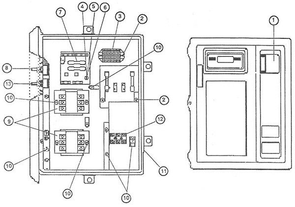 50 Hobart 2912 Parts Diagram Au0d In 2020 Diagram Hobart Image
