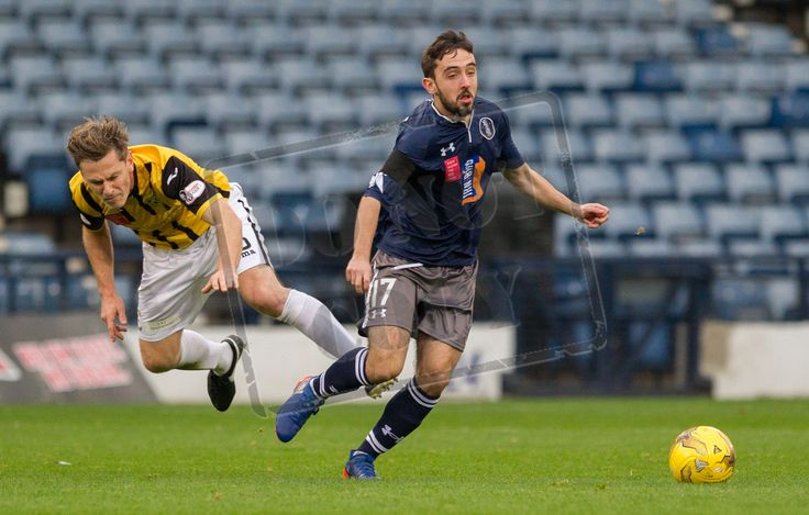 Queen's Park's Anton Brady in action during the Ladbrokes League One game between Queen's Park and East Fife.