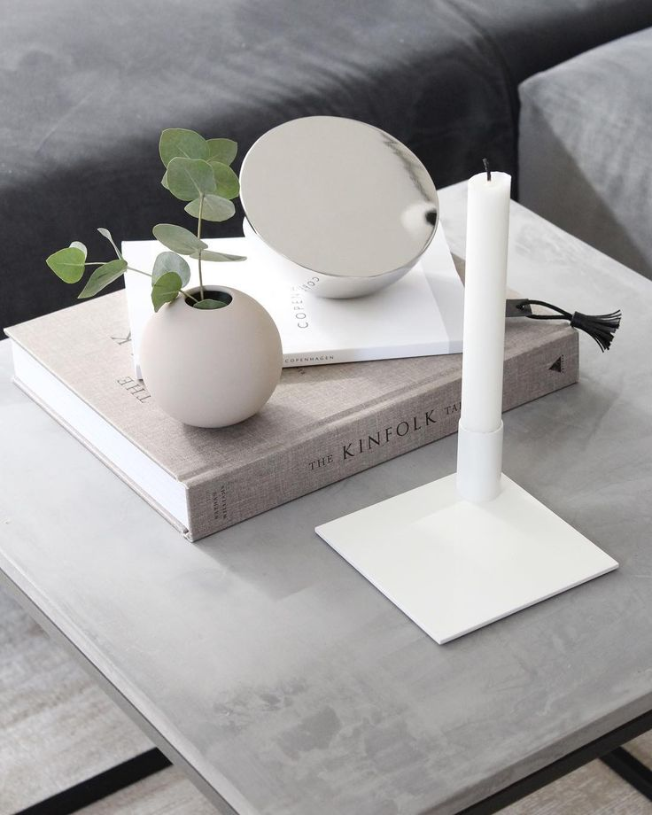 Sqaure Candle Holder White in the home of @carlasophiemolge
