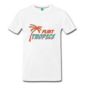 Natural Semi Pro Flint Tropics T-Shirts