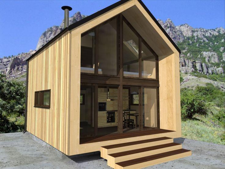 Каркасные дачные дома, строительство под ключ.