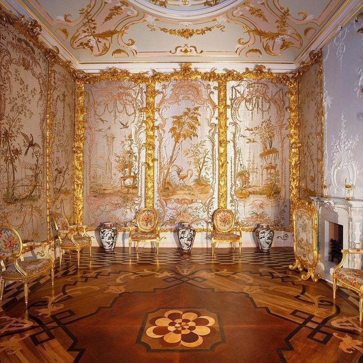 Стеклярусный кабинет. Китайский дворец. Ораниенбаум