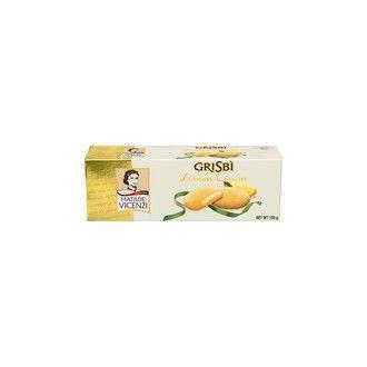 Sladké pečivo - Grisbí lemon cream - sušenky s citrónovou náplní 150g