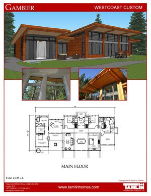 Future Home Houseplan no Loft Option Gambier Island