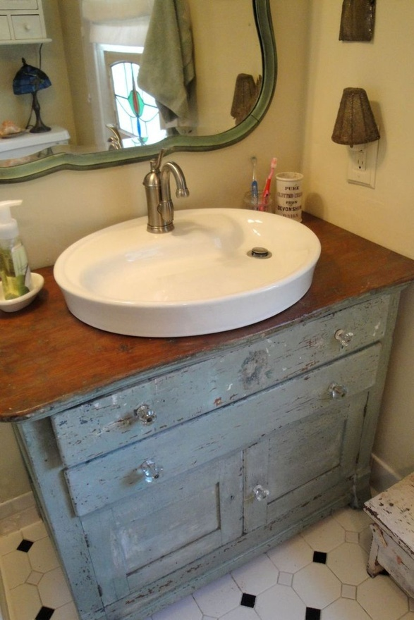 Dresser Turned Bathroom Vanity Tutorial: 17 Best Ideas About Dresser Sink On Pinterest