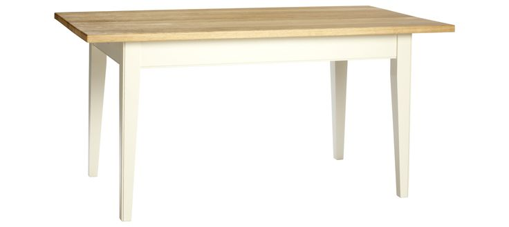 Spey Dining Table - Chalk