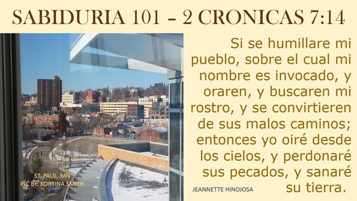2 CRONICAS 7:14  - ST. PAUL, MN -  PIC BY: KORTINA SMITH