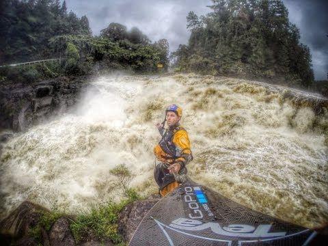 ▶ Ben Brown: GoPro Hero3+ NZ Flood Kayaking