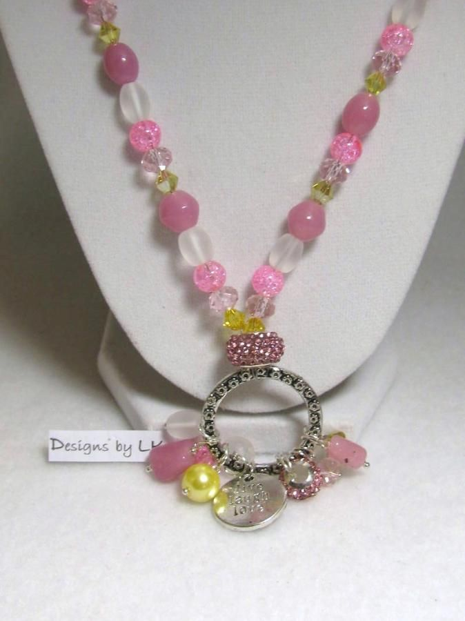 Softness in Pearls - Jewelry creation by Linda Foust