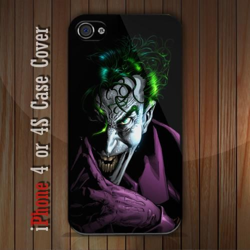 New The Joker iPhone 4 or 4S case Cover iPhone case 4/4S - 1