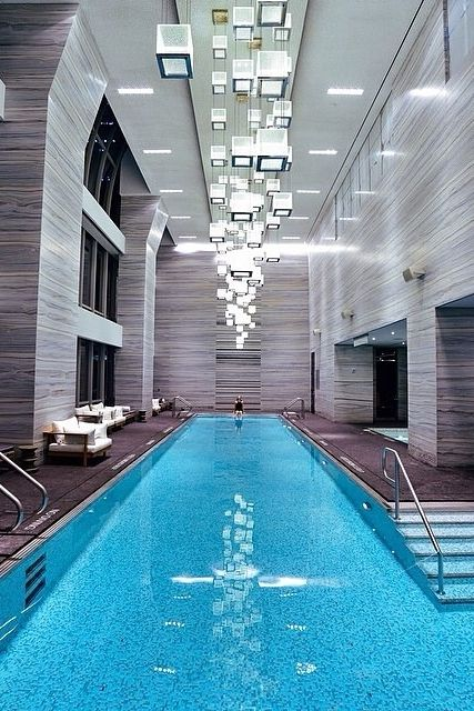 Take a dip in the indoor pool at the brand new park hyatt - New york hotels with swimming pools ...