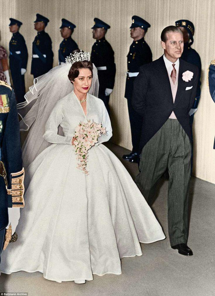 Daily Mail revisits Princess Margaret's stylish nuptials