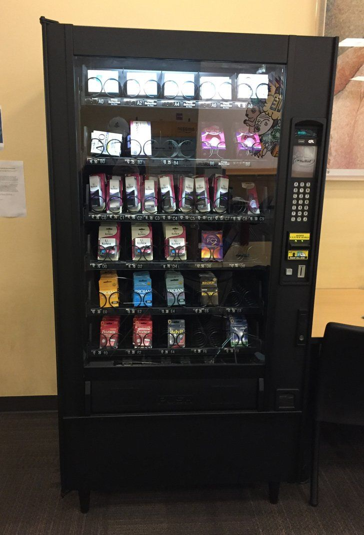 This California University Has a Vending Machine For Plan B — Seriously!