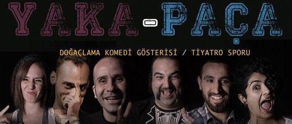 Mizah yüklü gösteri Yaka Paça, 27 Mart Cuma akşamı Tiyatro Karakutu'da sahneleniyor.  #tiyatro #yakapaca #tiyatrogunu #theatre