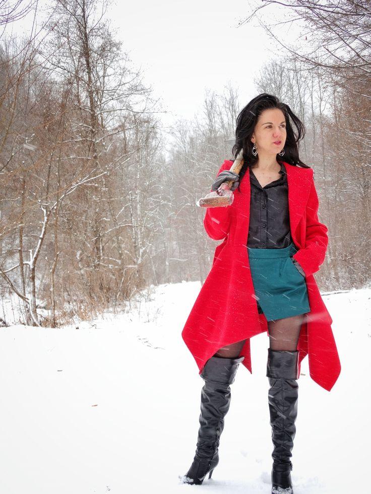 Winter inspiration! #fashion #travel #romania #beautifuldestinations #outfits #crisjoruneys Deszăpezire de Groază! – unelte necesare