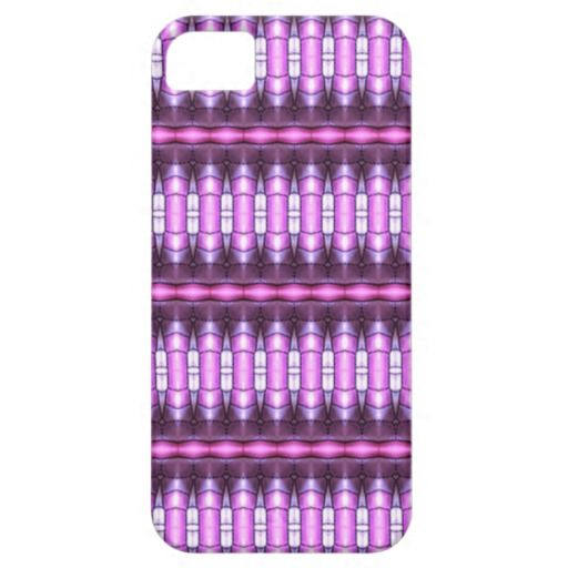 abstract pattern pink tube iPhone 5 case