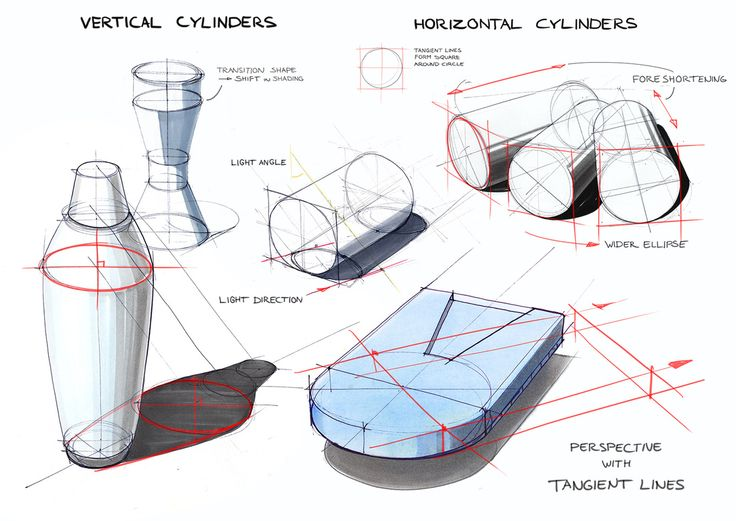 cylinders/ by Delft Design Drawing