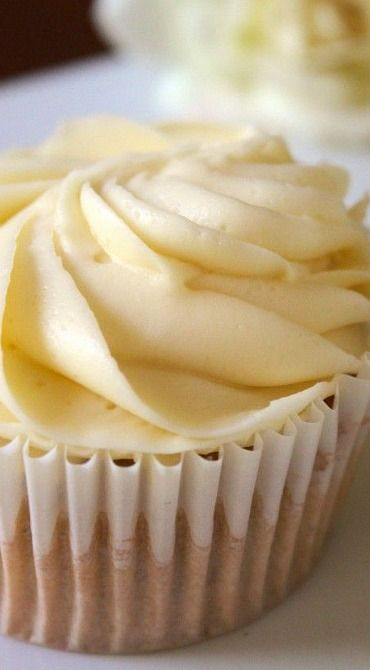 White Russian Cupcakes are topped with a luscious vodka flavored buttercream icing. For adults only!