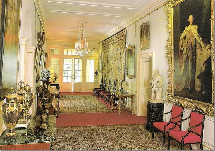 Clarence House ...Front Hall