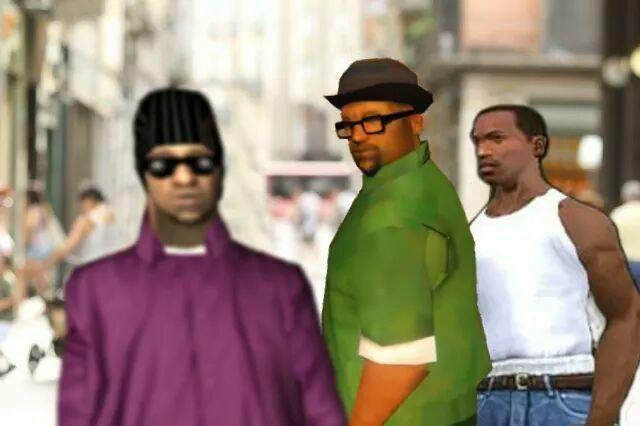 Disloyal man in Grand Theft Auto (GTA)