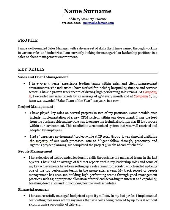 Why A Competency Based Cv May Be For You Phiona Martin Competency Based Cv Template Job Resume Samples