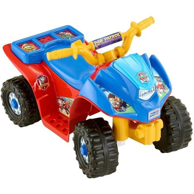 Paw Patrol Power Wheels ATV Kids Nickelodeon Quad Toddler Ride On Toy Electric #PowerWheels