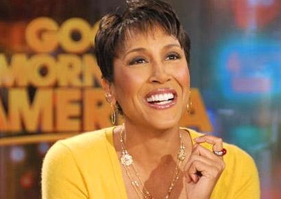 Robin Roberts.  She's why I watch GMA.  Keeping her in my prayers.