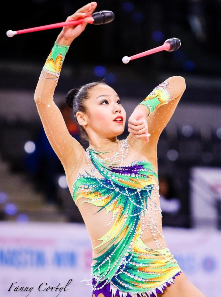 Aliya Assymova (Kazakhstan), World Championships (Stuttgart) 2015