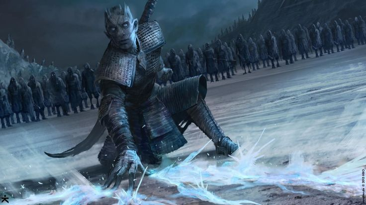 The Night King's attack on the Three-Eyed Raven's cave