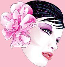 gify twarz kobiety