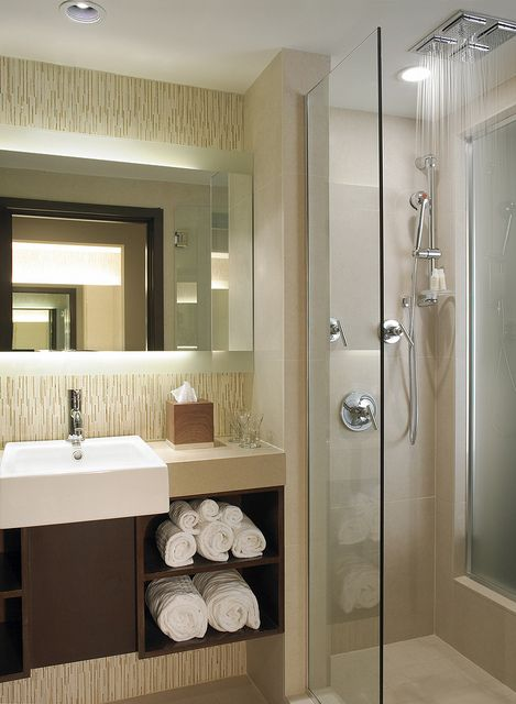 Spa Inspired Bathrooms with Aveda Toiletries by thepalmshotel, via Flickr