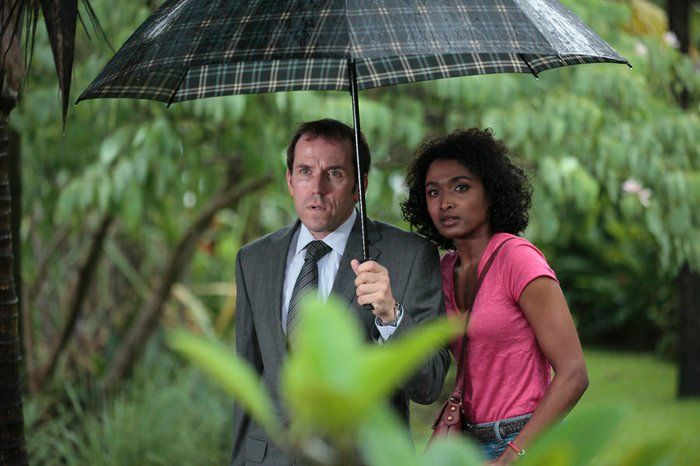 Death in Paradise- another fun British   TV series.: Death in Paradise- another fun British   TV series.