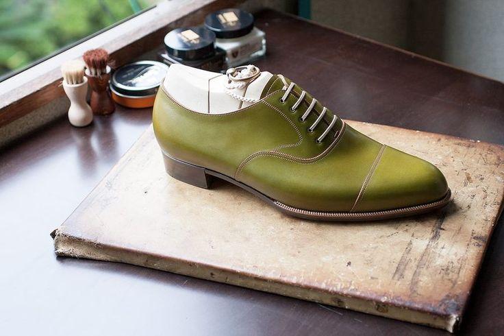 Green Oxford. TYE Shoemaker