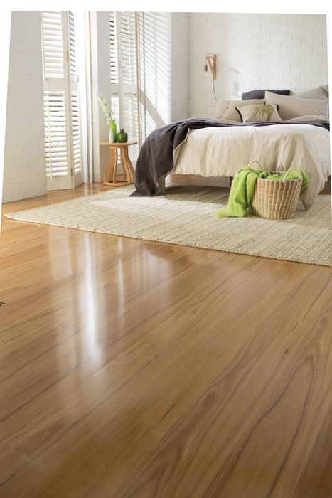 Plantino Laminate + Alpine Haze rug = the perfect flooring for your bedroom!  Recreate the look at http://www.choicesflooring.com.au/search-flooring-range/