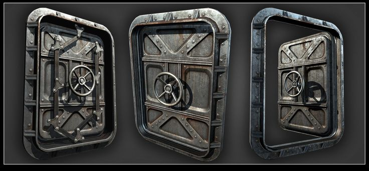 ArtStation - Goldeneye Reloaded Doors, Mark Ranson