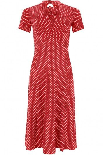 The Red Amie Dress by Lindy Bop