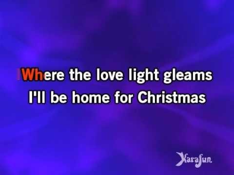 Karaoke I'll Be Home For Christmas - Michael Bublé * (+playlist)